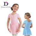 chiffon ballet skirt girls leotard dance