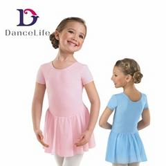 chiffon ballet skirt girls leotard dance ballet dress leotard with skirt