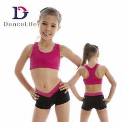 Wholesale child bra top tank tops girls crop top