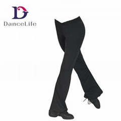 Adult Jazz pant adult black jazz dance pants for women