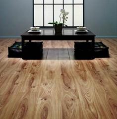 8.3mm HDF laminate flooring 3.5$ per sqms FOB qingdao port