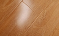 HDF pressed mould laminate flooring with