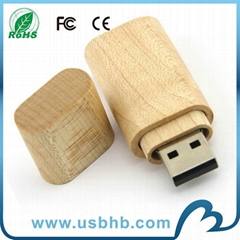 Popular Customized design wood usb stick with Wholeasle Price