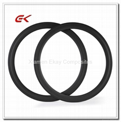 700C 50mm Tubular Carbon Fiber Racing Road Bicycle Rim