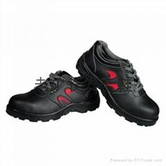 老矿长D515防砸防穿刺耐磨防滑防静电耐高温安全鞋