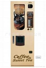 广州供应韩国LOTTE自动售货机LVM-3142 冰原豆咖啡机