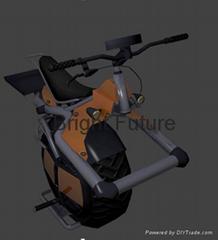 Solo Wheel Motorcycle