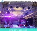 aluminium alloy performance exhbition lighting stage performance screw truss 5