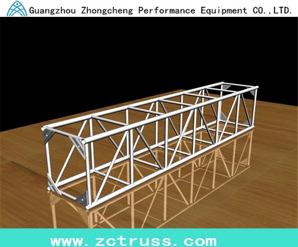 Aluminum Exhibiton Performance Screw Square Stage Lighting Truss (SQU400) 1