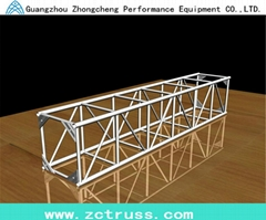 Aluminum Exhibiton Performance Screw Square Stage Lighting Truss (SQU400)