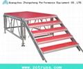 stage plexiglass acrylic  aluminum stage