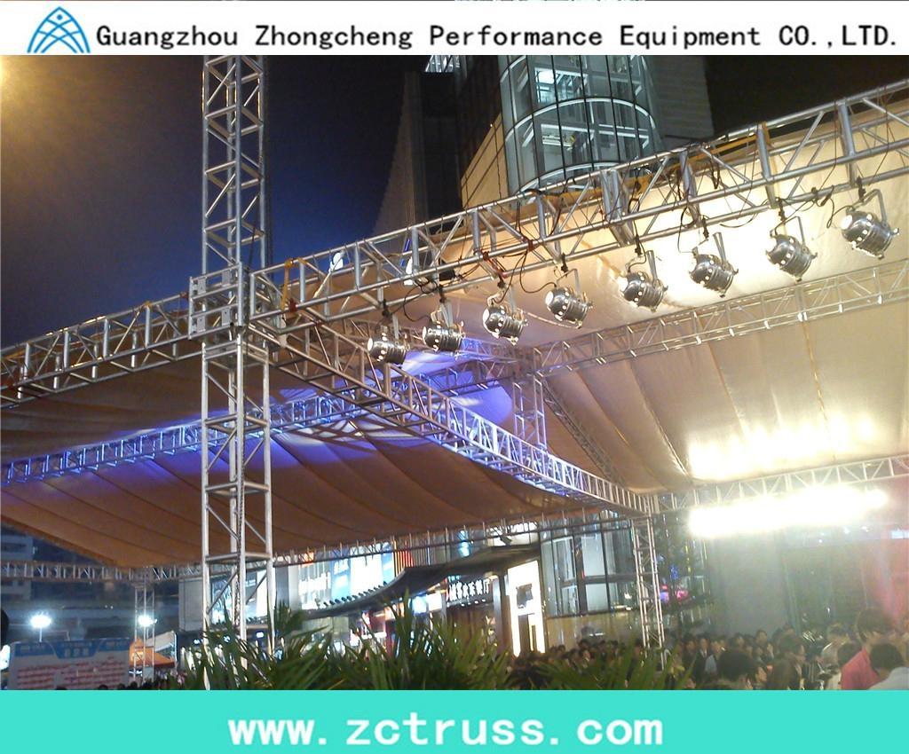 Aluminum Exhibiton Performance Screw Square Stage Lighting Truss (SQU400) 3