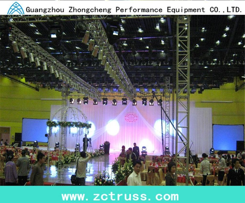 Aluminum Exhibiton Performance Screw Square Stage Lighting Truss (SQU400) 4