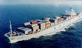 Sea freight service from China to