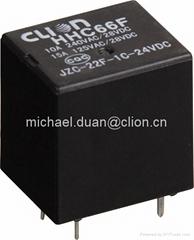 Mini PCB Relay JZC-22F