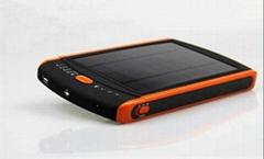太陽能筆記本移動電源