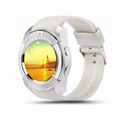 新款智能手錶電話智能手錶電話手機圓屏插卡信息推送智能電話手錶