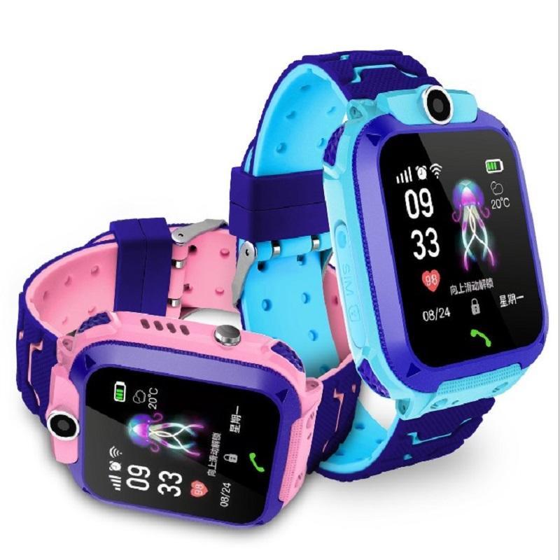 儿童電話手錶儿童定位電話手錶微聊 1