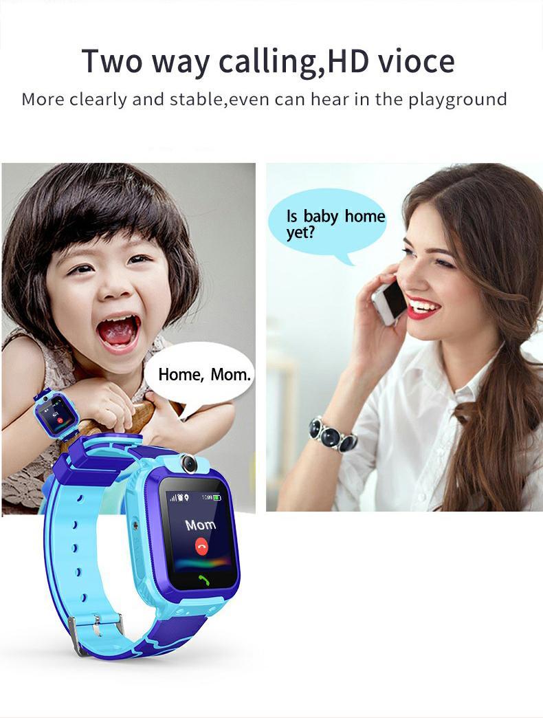 儿童電話手錶儿童定位電話手錶微聊 5