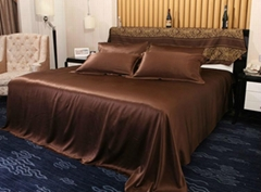 Silk bedding 4pcs set