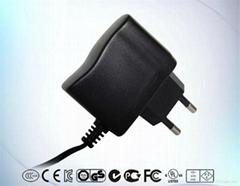 欧规电源12V0.8A插墙式电源适配器