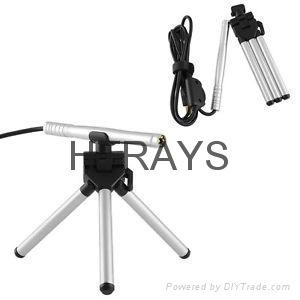 0.3MP driver 200x usb microscope camera with 4LED lights for video otoscope 1