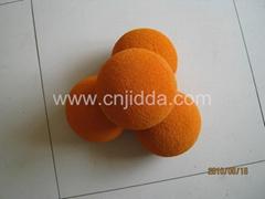 DN125 Medium Soft Concrete Pump Sponge Cleaning Ball
