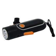 Popular dynamo flashlight for traveling