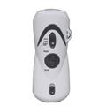 hand winding flashlight radio