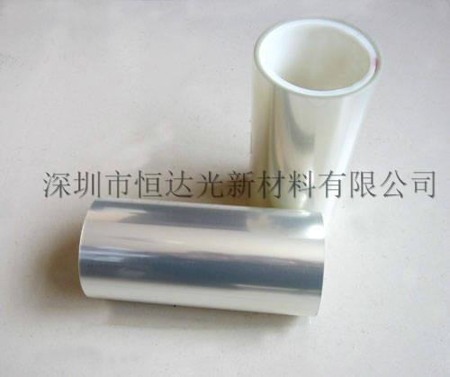 高透高質雙層硅膠pet保護膜 1