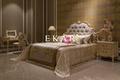 King wood platform bed / indian bed
