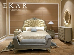 2017 Latest Wooden Double Bed Designs Shells Comfortable Luxurious Italian