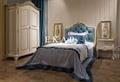 Vintage design unique queen bed / queen