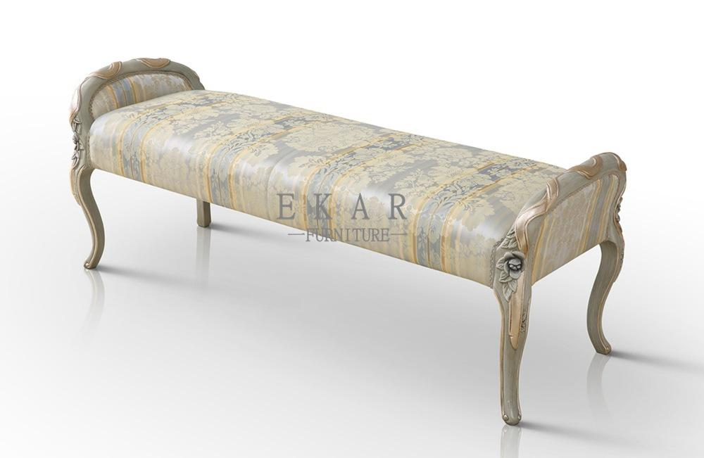 Hot Sale Bedroom Furniture French Style Bench Bedroom FU-103 1