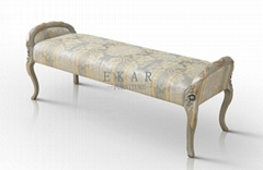 Hot Sale Bedroom Furniture French Style Bench Bedroom FU-103