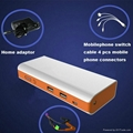 2015 new global unique model. car jump starter with 16000mAh 4