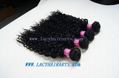 Malaysian virgin hair curly wave