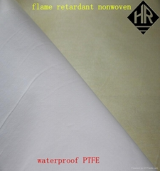 aramid nonwoven fabric thermal barrier for fireman suit