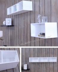 Modern Home Furniture Kitchen Cabinet Display Stand (WLF-C011)