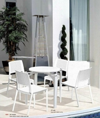 Modern Home Furniture Message Plastic Dining Chair (WLF-DT036)