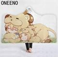 ONEENO Hooded Blanket Cloak Home
