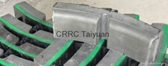 railway brake shoe  pad