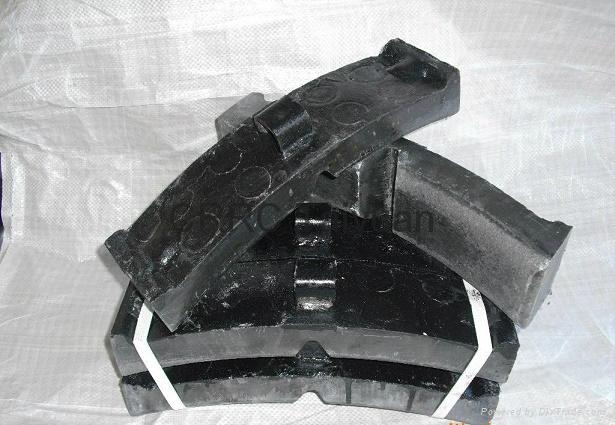 railway brake shoe  pad 4