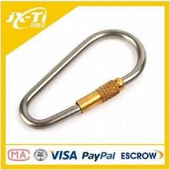 titanium outdoor carabiner