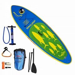 Shark SUPs inflatale stand uppaddle board SAS