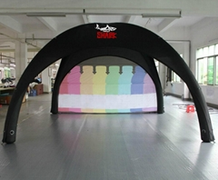 INFLATABLE TENT OPEN