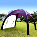 INFLATABLE TENT OPEN 3