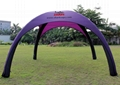 INFLATABLE TENT OPEN 4