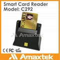 Smallest smart chip card reader for ID