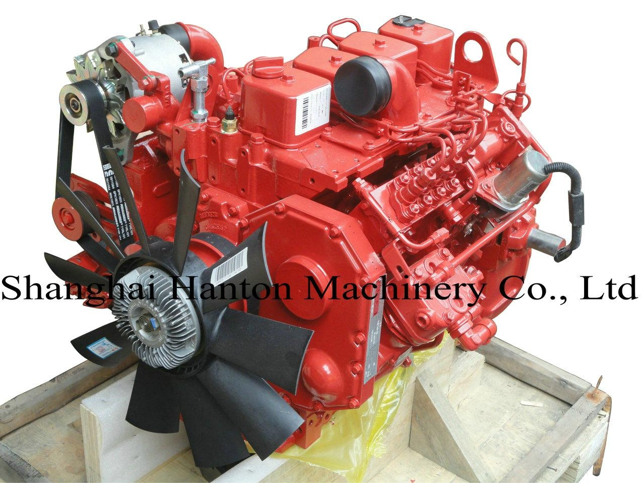 Cummins 4BTAA3.9 diesel engine for automobile and bus 1